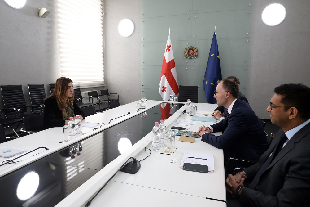 The first working meeting with the European Investment Bank Regional Office was held in the South Caucasus